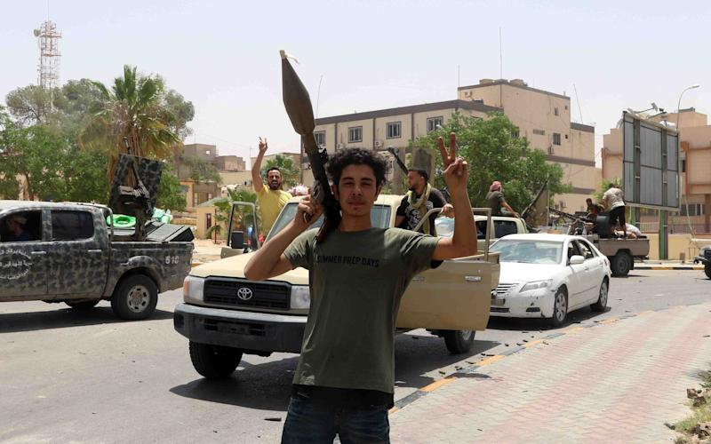 UN-backed GNA forces take control of town south of Tripoli