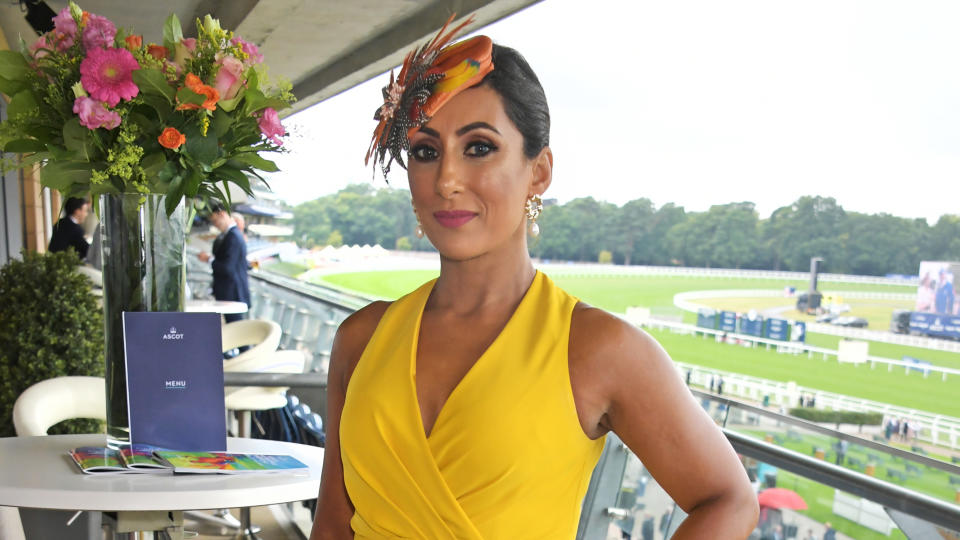 Saira Khan left 'Loose Women' at the beginning of 2021 after several years as a regular contributor. (David M. Benett/Getty Images for Ascot Racecourse)