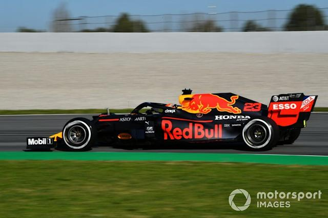 "20º Alex Albon, Red Bull Racing RB16: 1:17.550 (con neumáticos C2) <span class=""copyright"">Mark Sutton / Motorsport Images</span>"