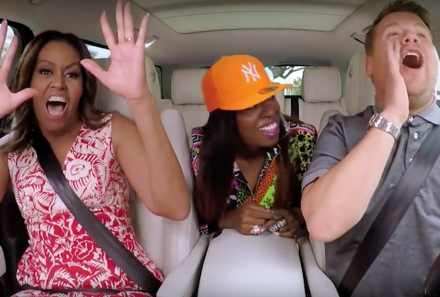 Michelle Obama slays 'Single Ladies' on Carpool Karaoke