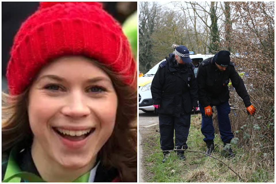 Police have begun searching woodland as part of their investigation into the disappearance of Sarah Everard. (Met Police/PA)