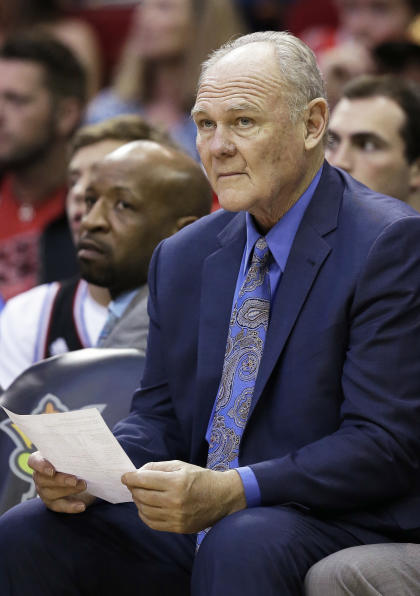 George Karl didn't have the full support of the Kings' front office. (AP)