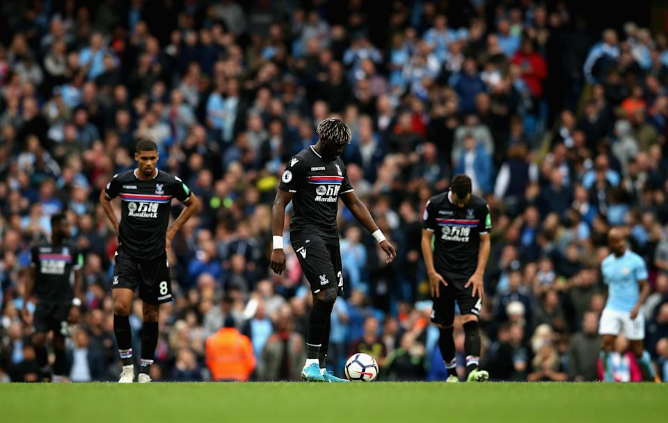 Crystal Palace struggled to replicate the organisation shown in the first half and paid the price