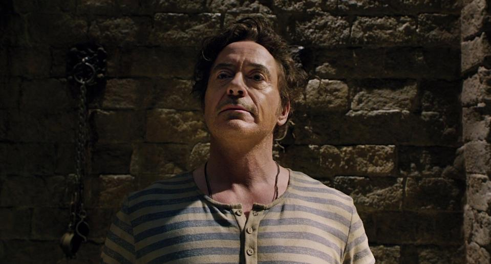 Robert Downey Jr's Dolittle performance was roundly attacked (Image by Universal)