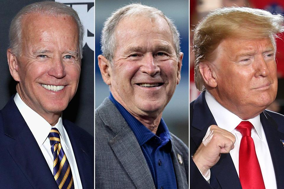George W. Bush Called Biden and Harris to Congratulate Them as He Says 'We Must Come Together'