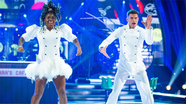 "Kevin called out the judges for ""slaughtering"" Clara Amfo's Samba (Photo: BBC)"