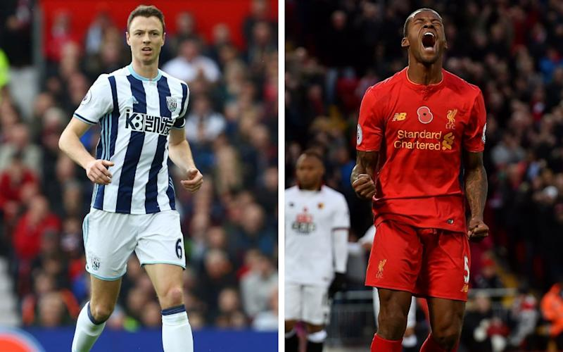 Start your Easter Sunday right: watch a football match featuring Jonny Evans and Georginio Wijnaldum - REX, GETTY IMAGES