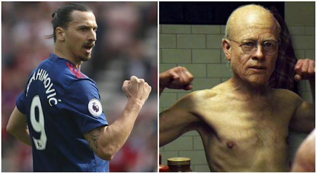 Ibra se compare à Benjamin Button (AFP).