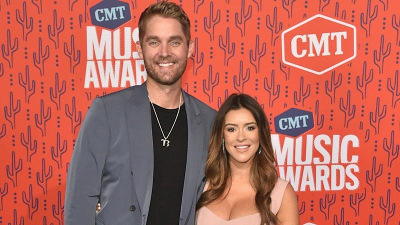 4d92911e0 CMT Music Awards 2019: Brett Young Says He's 'On Cloud 9' as Wife ...
