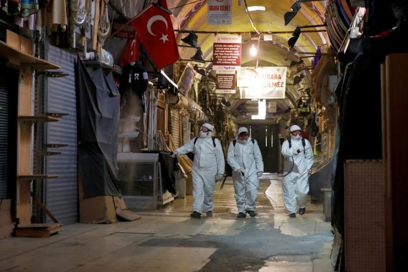Coronavirus Death Toll in Turkey Exceeds 2,000, Number of Infections over 86,000