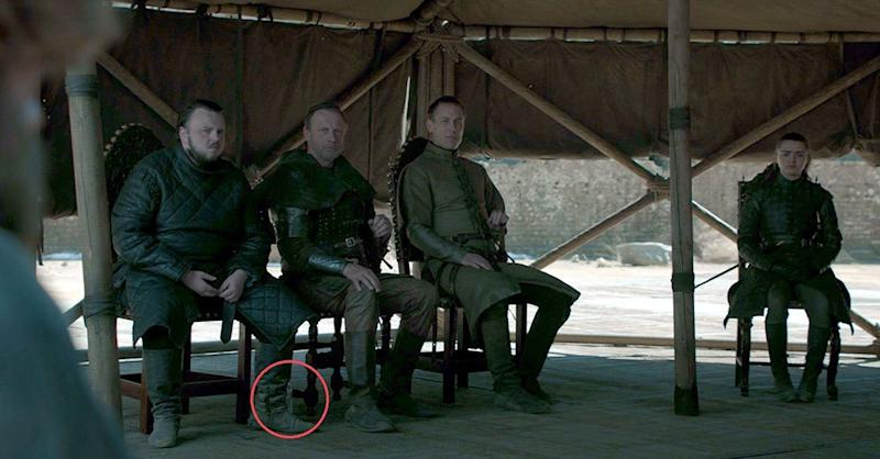"""<p>Move over """"Game of Thrones"""" coffee cup and make way for """"Game of Thrones"""" water bottles! Two weeks after viewers spotted a stray cup sitting in front of Daenerys Targaryen, two different water bottles were seen on screen during a pivotal scene in the series finale that aired on Sunday night. When Tyrion Lannister stood […]</p> <p>The post <a rel=""""nofollow"""" rel=""""nofollow"""" href=""""https://theblast.com/game-of-thrones-water-bottle-finale/"""">'Game of Thrones' Finale Screwup: Not One, But TWO Water Bottles!</a> appeared first on <a rel=""""nofollow"""" rel=""""nofollow"""" href=""""https://theblast.com"""">The Blast</a>.</p>"""