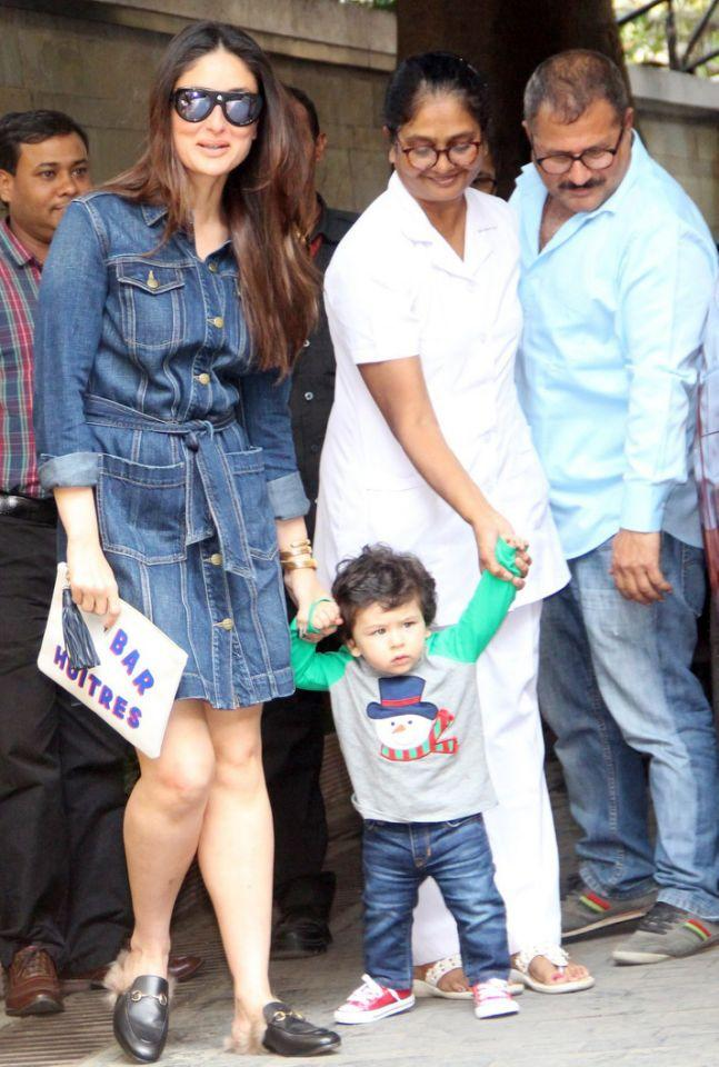 <p>The Kapoor khandaan gets together for their annual Christmas bash – and young Taimur is the star of the show </p>
