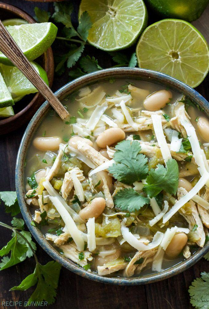 "<p><span>We're making this hearty white-bean chili ASAP.</span></p><p><span><a href=""http://reciperunner.com/white-chicken-chili/"" rel=""nofollow noopener"" target=""_blank"" data-ylk=""slk:Get the recipe from Recipe Runner »"" class=""link rapid-noclick-resp"">Get the recipe from Recipe Runner »</a></span></p>"