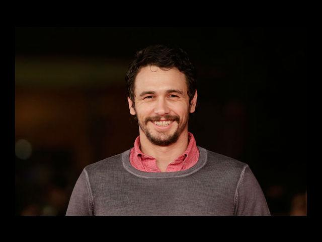<b>5) James Franco</b><br> Have you ever seen a guy looking younger in a moustache? No? Well, here's James Franco for you. The 'tache takes off years from his age.