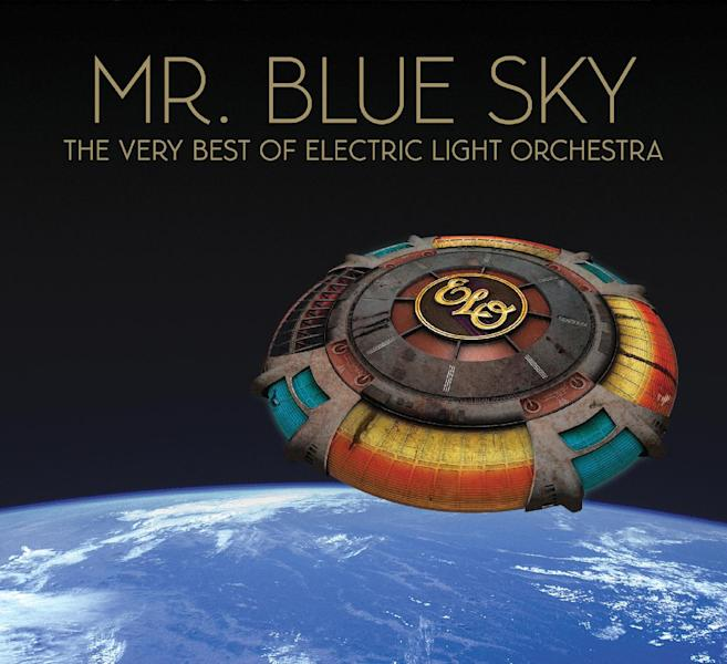 """This CD cover image released by Frontiers Records shows """"Mr. Blue Sky: The Very Best of Electric Light Orchestra."""" (AP Photo/Frontiers Records)"""
