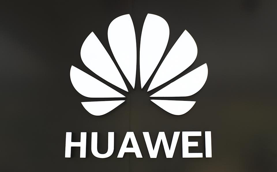 NANJING, CHINA - APRIL 21, 2020 - Huawei logo of a specialty store, Nanjing, Jiangsu Province, China, April 21, 2020. (Photo by Yang Suping / Costfoto/Sipa USA)