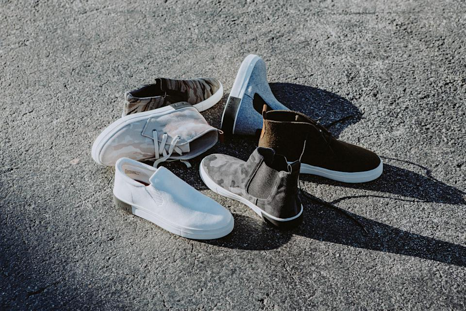 Earth Day eco shoes