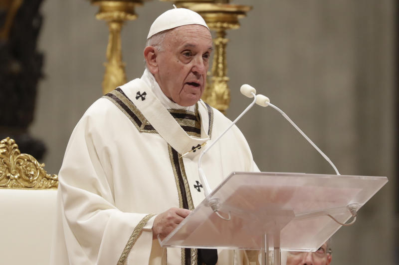 Pope prays for peace global flashpoints