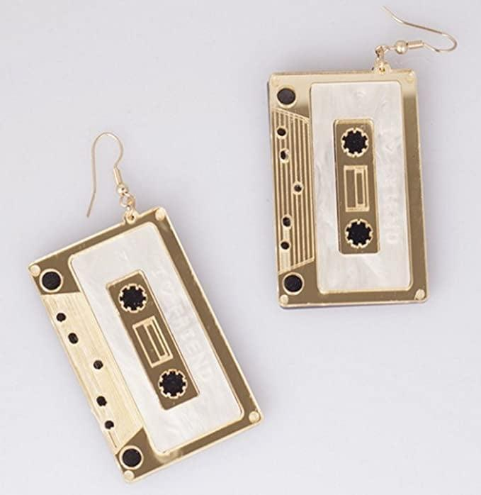 <p>These <span>Cassette Tape Dangle Earrings</span> ($6) will have you feeling nostalgic.</p>