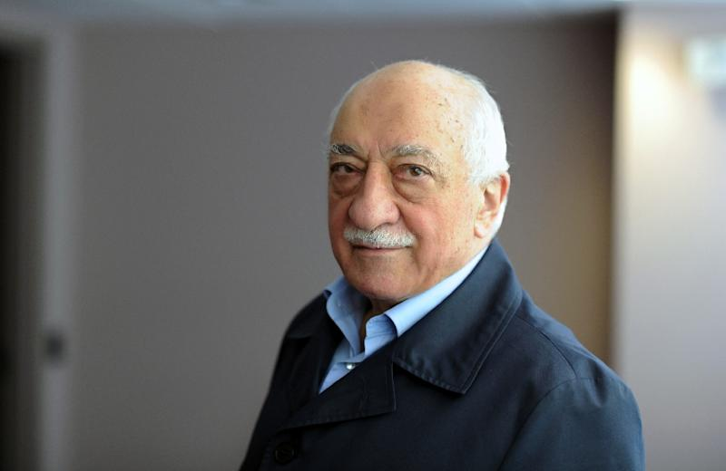 Exiled Turkish Muslim preacher Fethullah Gulen, pictured at his residence in Saylorsburg, Pennsylvania, in 2013 (AFP Photo/Selahattin Sevi)