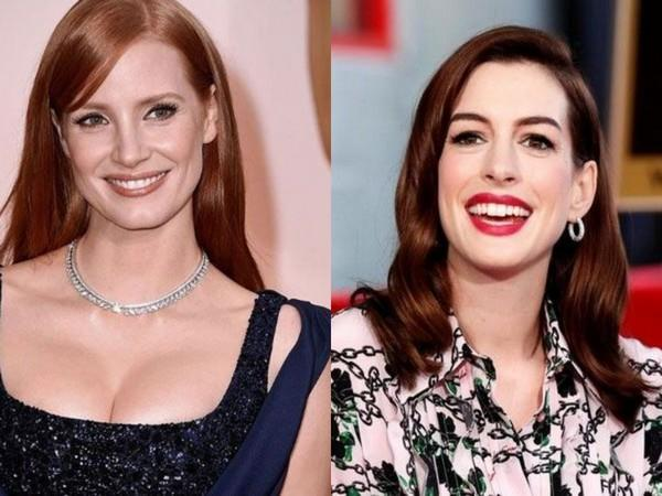 Jessica Chastain and Anne Hathaway (Image courtesy: Instagram)