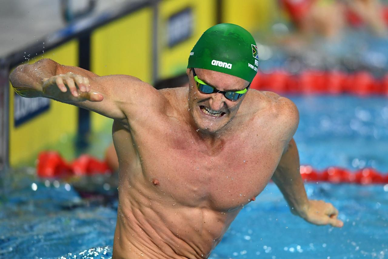 South Africa's Olympic gold medallist said he 'have been struggling with COVID-19 for 14 days' and the athletes who continute to train for the Tokyo Olympics are exposing themselves to 'unnecessary risks'.