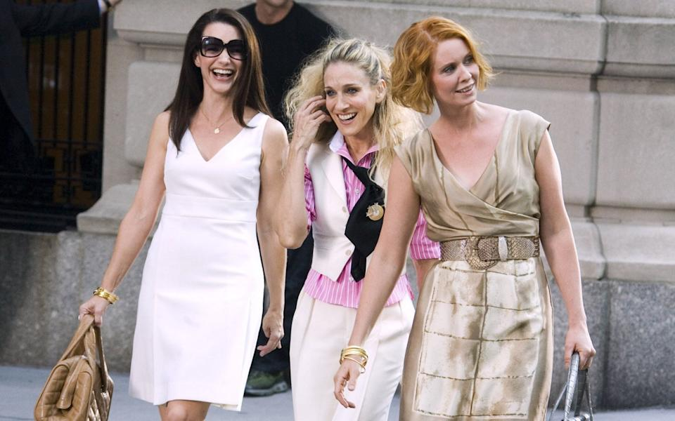 Without Cattrall, the girls are down to three - Shutterstock