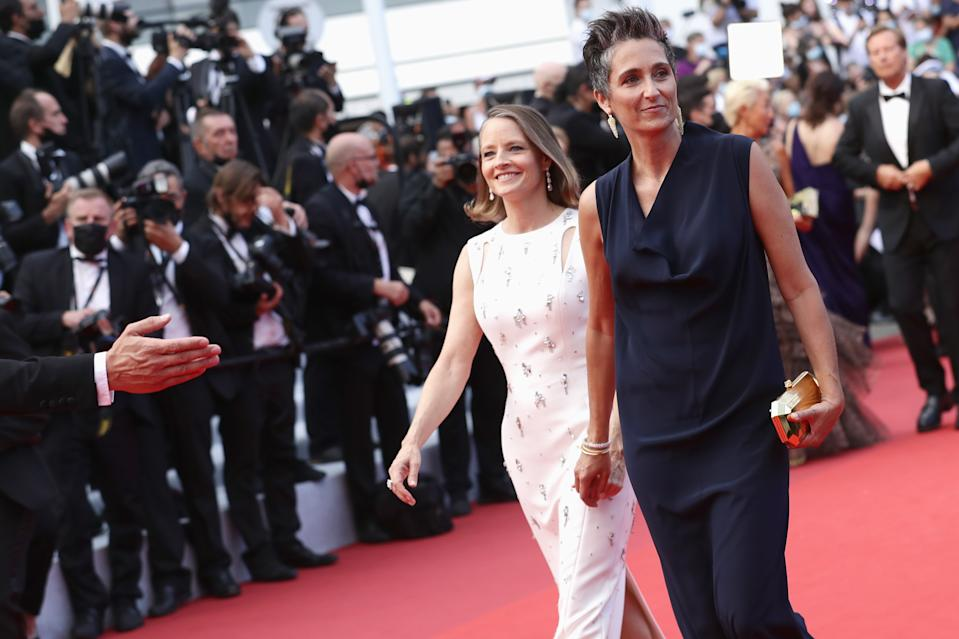 <p>Jodie Foster e a mulher Alexandra Hedison no Festival de Cannes (Photo by Vittorio Zunino Celotto/Getty Images for Kering)</p>
