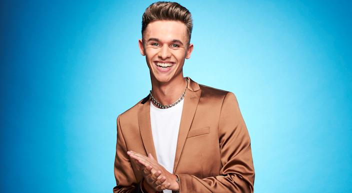 Emmerdale's Joe-Warren Plant will compete in Dancing On Ice in the new year. (ITV)