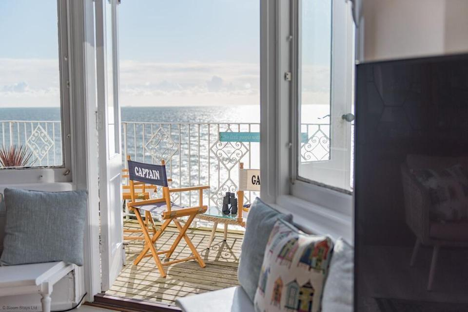 """<p>For an idyllic coastal retreat, just 550 yards from Folkstone's beach in Sandgate, look no further than Seagulls, a beach house rental that sits within a gorgeous period building. It has four bedrooms, seaside-inspired interiors and an Insta-worthy exterior. You'll went to relax with a drink in the living room, where you can sink into the sofa and soak up the sea views.</p><p><strong>Sleeps: </strong>8</p><p><a class=""""link rapid-noclick-resp"""" href=""""https://go.redirectingat.com?id=127X1599956&url=https%3A%2F%2Fwww.booking.com%2Fhotel%2Fgb%2Fseagulls-folkestone.en-gb.html%3Faid%3D2070929%26label%3Dbeach-house-rentals&sref=https%3A%2F%2Fwww.redonline.co.uk%2Ftravel%2Finspiration%2Fg36164603%2Fbeach-house-rentals%2F"""" rel=""""nofollow noopener"""" target=""""_blank"""" data-ylk=""""slk:CHECK AVAILABILITY"""">CHECK AVAILABILITY</a></p>"""