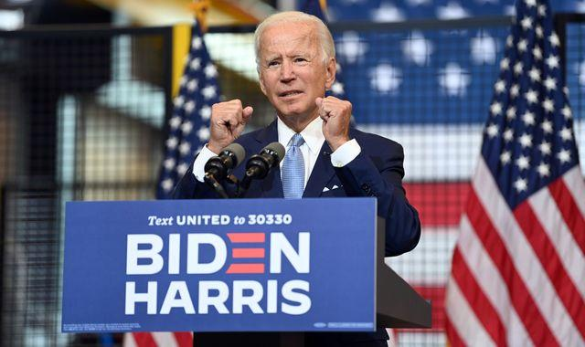 US election 2020: Joe Biden asks if Americans want the 'toxin' that is Donald Trump as president