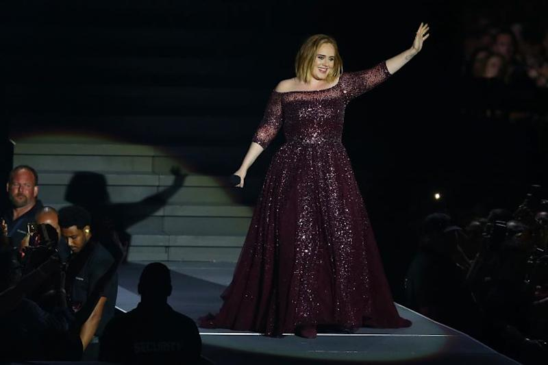 Is Adele married?