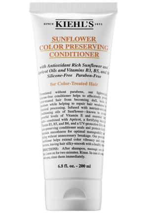 "<p>With a 4.8-star rating from other Sephora shoppers, this <a href=""https://www.popsugar.com/buy/Kiehl-Since-1851-Sunflower-Color-Preserving-Conditioner-553363?p_name=Kiehl%27s%20Since%201851%20Sunflower%20Color%20Preserving%20Conditioner&retailer=sephora.com&pid=553363&price=20&evar1=bella%3Aus&evar9=47270341&evar98=https%3A%2F%2Fwww.popsugar.com%2Fbeauty%2Fphoto-gallery%2F47270341%2Fimage%2F47273325%2FKiehl-Since-1851-Sunflower-Color-Preserving-Conditioner&list1=sephora%2Chair%20color%2Cconditioner&prop13=api&pdata=1"" rel=""nofollow"" data-shoppable-link=""1"" target=""_blank"" class=""ga-track"" data-ga-category=""Related"" data-ga-label=""http://www.sephora.com/product/sunflower-color-preserving-conditioner-P422507"" data-ga-action=""In-Line Links"">Kiehl's Since 1851 Sunflower Color Preserving Conditioner</a> ($20) is roundly praised for nourishing processed hair <em>without</em> any silicone. Instead, there are sunflower oils, apricot, and a blend of B vitamins that make hair more manageable and help color last, too.</p>"