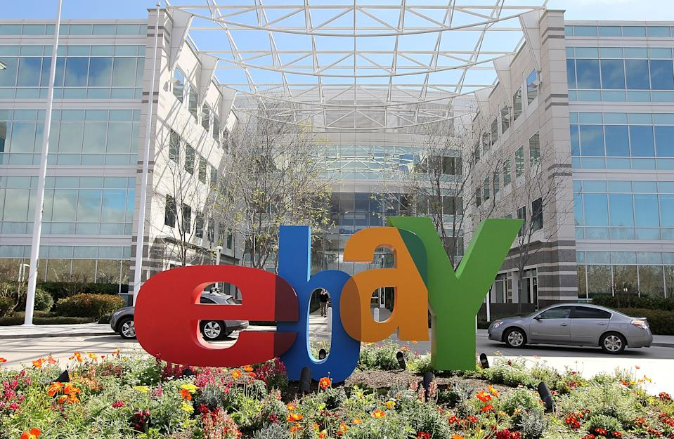 SAN JOSE, CA - FEBRUARY 24:  A sign is posted outside of the eBay headquarters February 24, 2010 in San Jose, California.  (Photo by Justin Sullivan/Getty Images)
