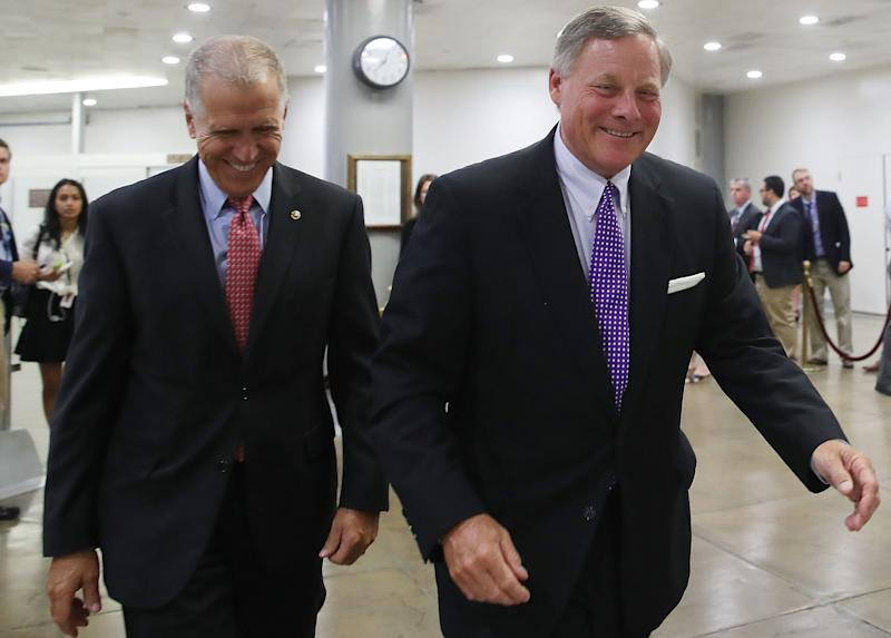 North Carolina Sens. Thom Tillis (R) and Richard Burr (R) are both supporting the confirmation of Thomas Farr to a U.S. District Court in North Carolina.