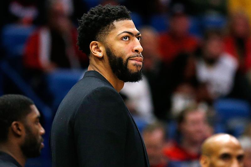 Pelicans Could Have Been Fined 100k Sitting Anthony Davis