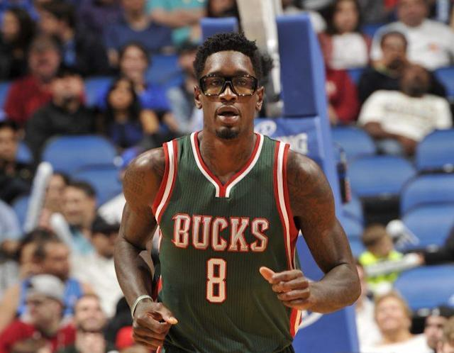 Larry Sanders last played in the 2014-15 season. (Getty Images)