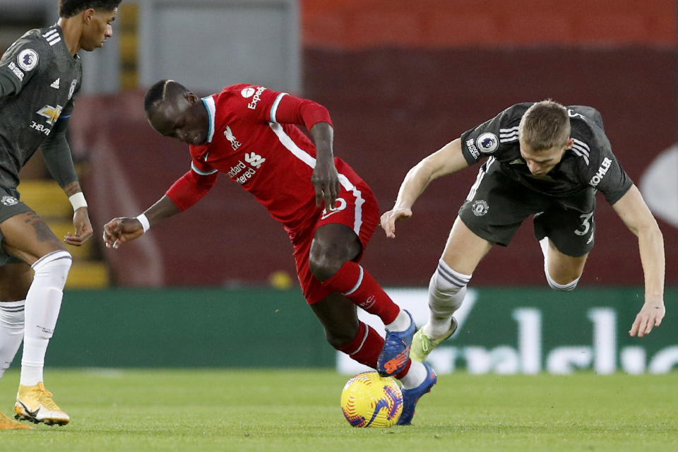 Manchester United and Liverpool's clash on Sunday wasn't bad game, per se, but it was marquee in name only. (Phil Noble/Pool via AP)