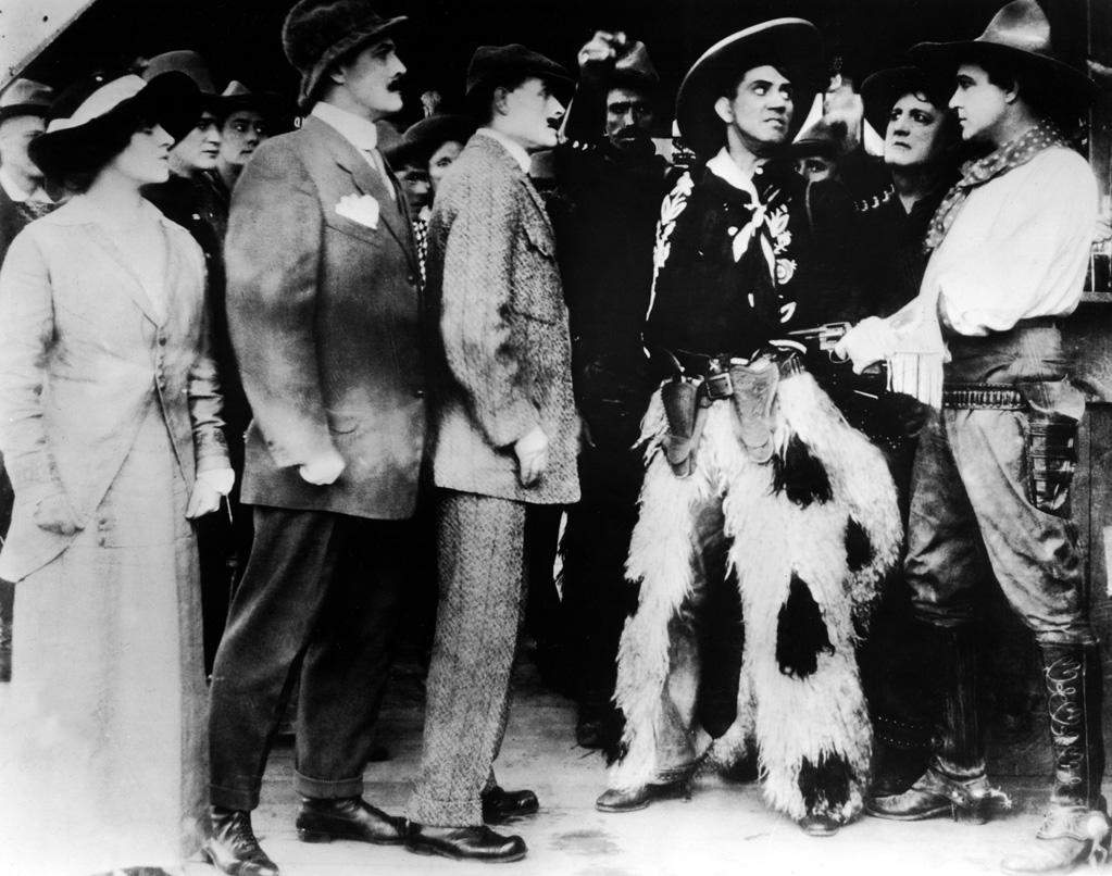 "1914  Cecil B. DeMille's first film, ""The Squaw Man"" was released on this day. It is also the first film to be produced in Hollywood (though some film historians dispute this). DeMille's directing experience before this consisted of a one-day apprenticeship at the Edison Studios."