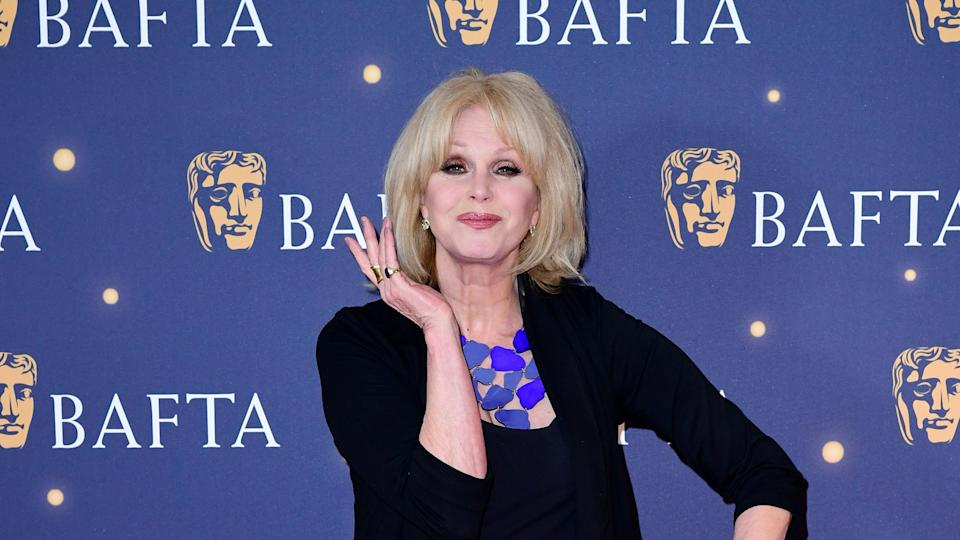 People watching the Bafta broadcast were unimpressed with Lumley's monologue.