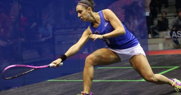 Squash - British Open : bleu horizon