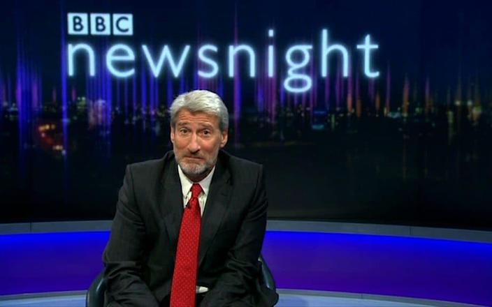 Jeremy Paxman had a spell presenting the Six O'clock News before joining Newsnight