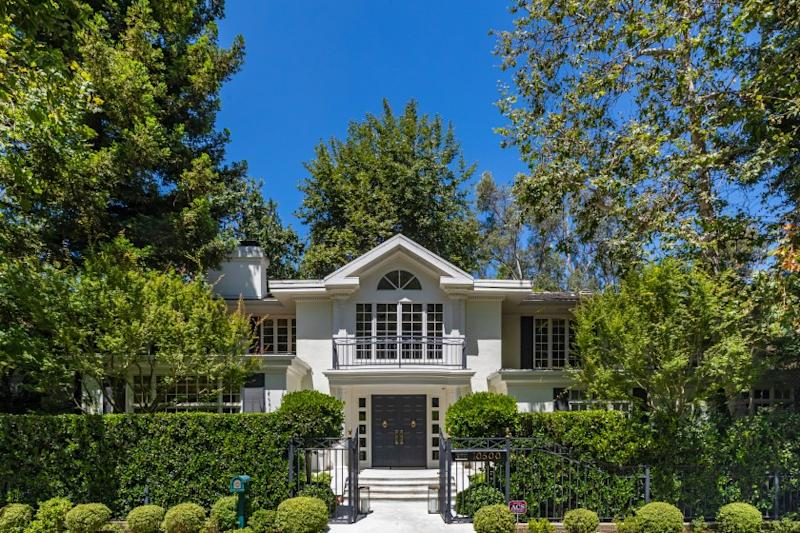 The Bel-Air home of actress-producer Cynthia Sikes Yorkin sits on more than half an acre in Bel-Air. Asking price: $10.95 million.
