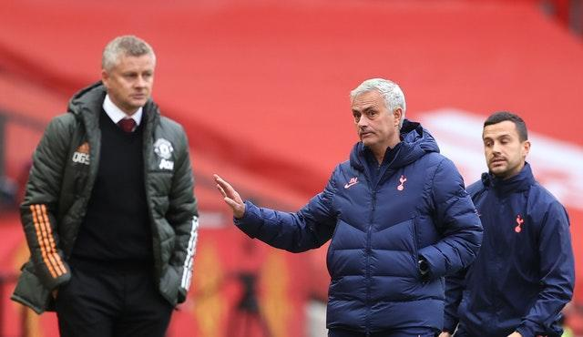 Tottenham manager Jose Mourinho, who was sacked by Manchester United in December 2018, enjoyed a winning return to his former club last weekend
