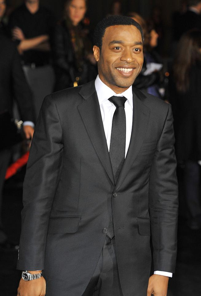"""<a href=""""http://movies.yahoo.com/movie/contributor/1808492654"""">Chiwetel Ejiofor</a> at the Los Angeles premiere of <a href=""""http://movies.yahoo.com/movie/1810045661/info"""">2012</a> - 11/03/2009"""