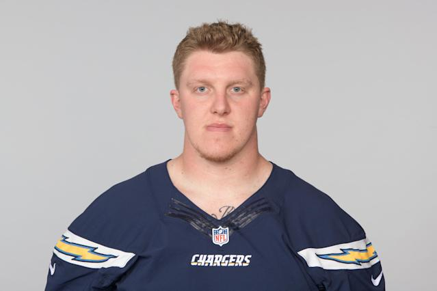 Undrafted offensive lineman Zack Golditch has a good shot of making the Chargers' roster. On July 20, 2012, he was shot in the neck during the Aurora, Colorado, movie theater shooting. (AP)