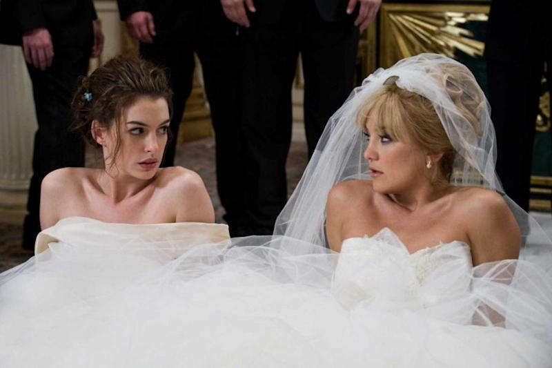 The bride's main concern is that she shares the same close friends and family as her best friend, meaning the guests would essentially be attending the same wedding celebration. Photo: 20th Century Fox