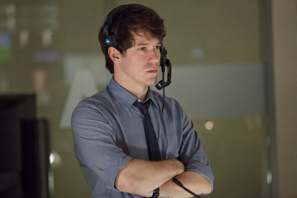 "John Gallagher, Jr. in ""The Newsroom"" on HBO."