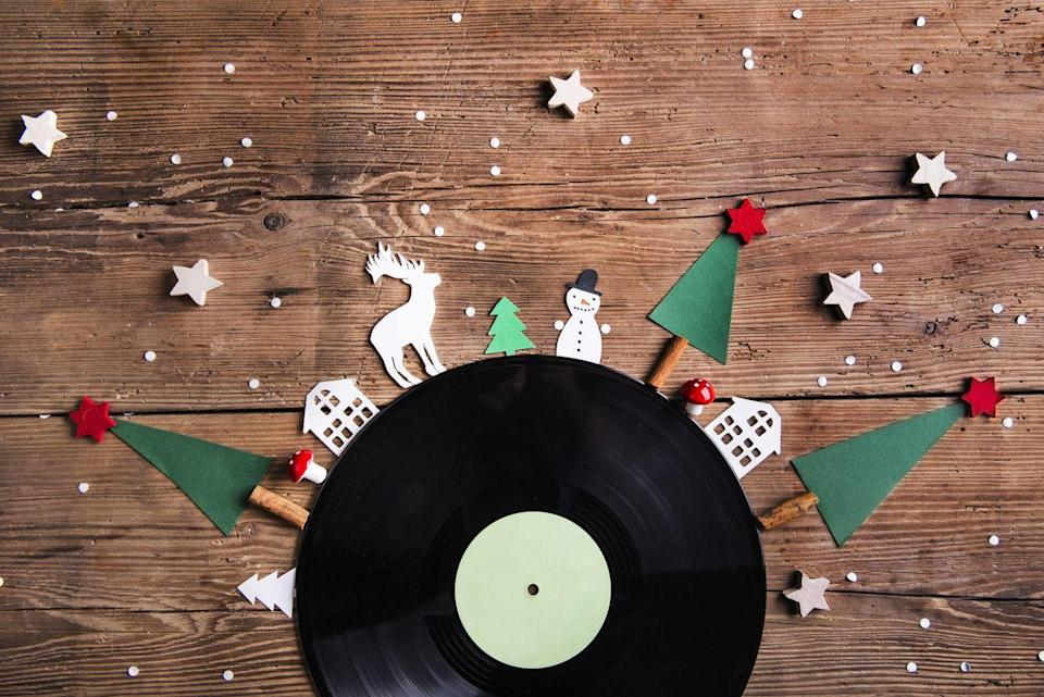 """<p>Get the crew rockin' around the Christmas tree with a playlist that features all your favorites. In our opinion, it's <em>never</em> too early (in the morning or the year) to start playing them.</p><p><strong>RELATED:</strong> <a href=""""https://www.goodhousekeeping.com/holidays/christmas-ideas/g29760151/modern-christmas-songs/"""" rel=""""nofollow noopener"""" target=""""_blank"""" data-ylk=""""slk:45 Best Modern Christmas Songs You Need on Your Holiday Playlist"""" class=""""link rapid-noclick-resp"""">45 Best Modern Christmas Songs You Need on Your Holiday Playlist</a></p>"""