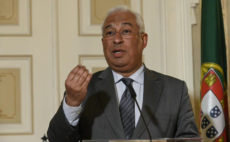 El primer ministro portugués, Antonio Costa (Photo by Horacio Villalobos#Corbis/Corbis via Getty Images)